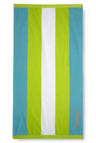 Vertical Rugby Stripe Beach Towel