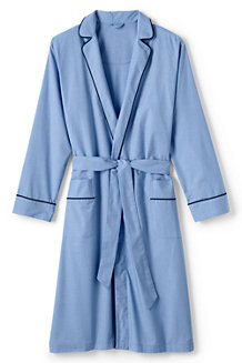 Men's Broadcloth Dressing Gown