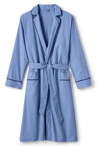 Men's Regular Broadcloth Dressing Gown