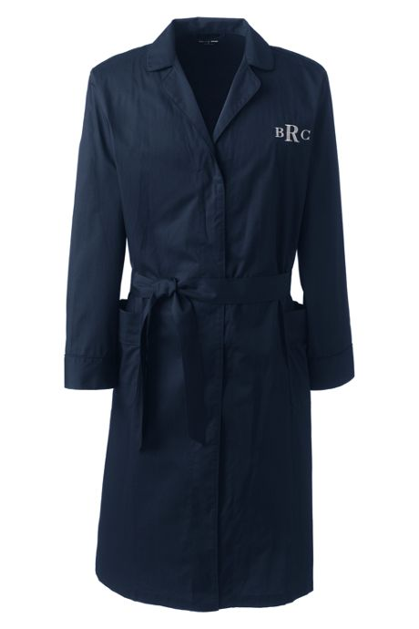 Men's Broadcloth Robe