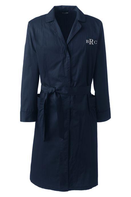 Men's Broadcloth Robe