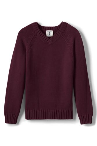 Boys Fair Isle Crewneck Sweater from Lands' End