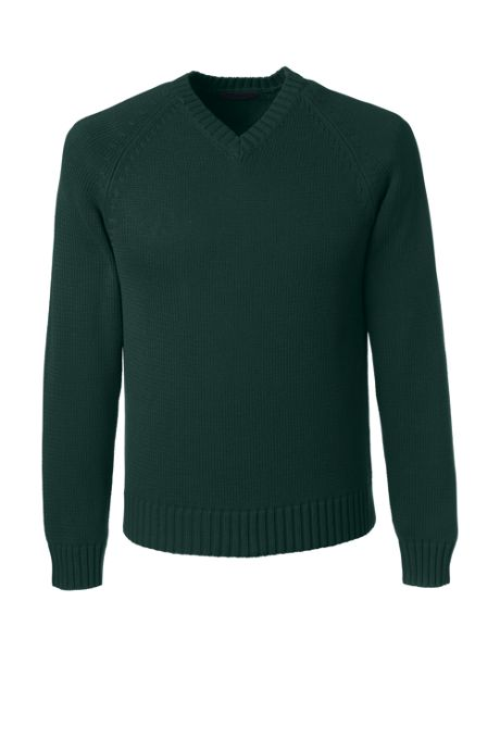 School Uniform Men's Performance Drifter V-neck Pullover