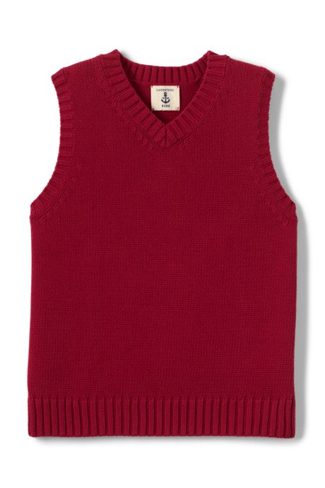 School Uniform Little Boys Drifter V-neck Vest