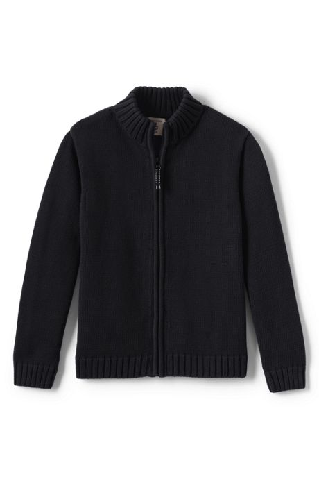 Little Boys Drifter Zip-front Cardigan