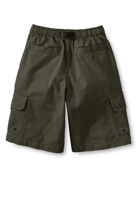 School Uniform Boys Slim Pull On Cargo Climber Shorts
