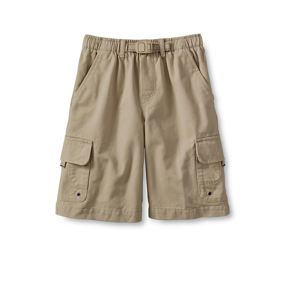 Lands' End Boys' Husky Cargo Climber Shorts at Sears.com