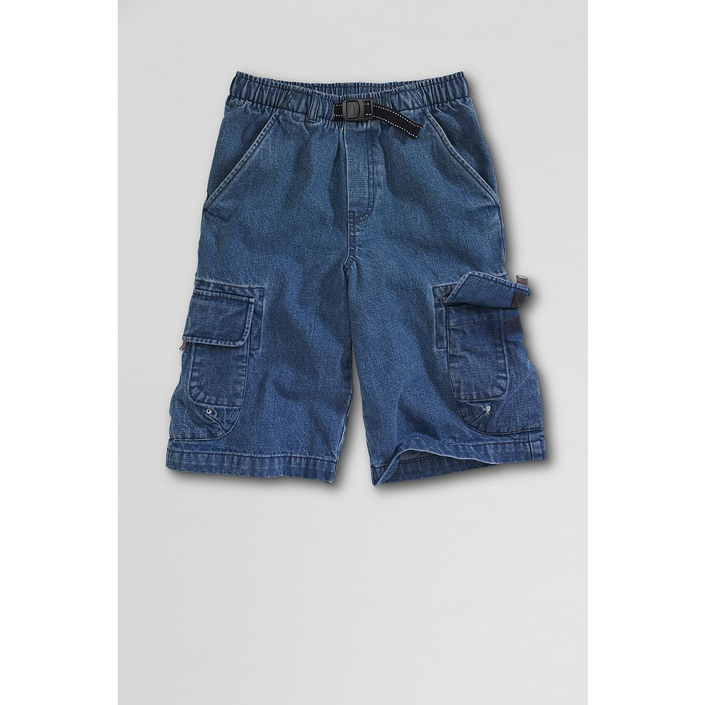 Lands' End Little Boys' Cargo Climber Shorts
