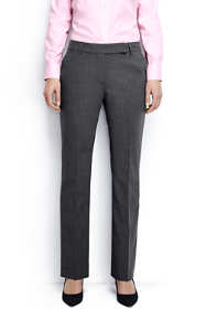 Women's Washable Wool Curvy Modern Pants