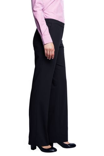 Women's Washable Wool Curvy Modern Pants