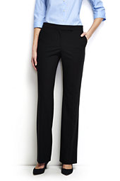 Washable Wool Straight Modern Pants
