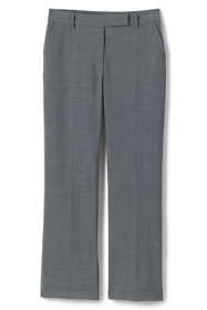 Women's Washable Wool Straight Modern Pants
