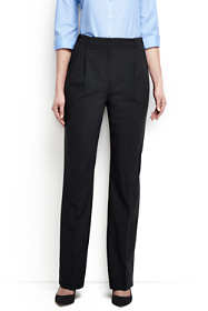 Women's Tall Washable Wool Pleat Comfort Trousers