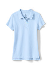 School Uniform Short Sleeve Feminine Fit Mesh Polo