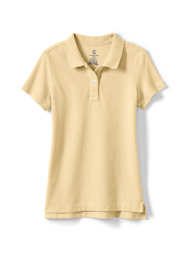 Women's Short Sleeve Feminine Fit Mesh Polo Shirt