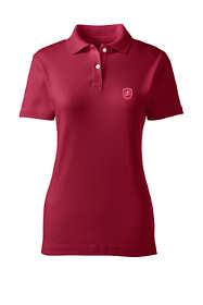 School Uniform Women's Short Sleeve Fem Fit Interlock Polo