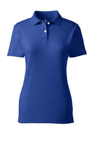 Women's Short Sleeve Fem Fit Interlock Polo