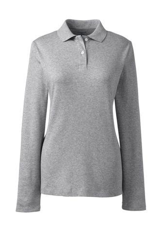Long sleeve polo dresses for women