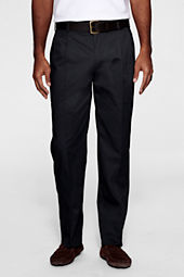 Men's Pleat Front Blended Chino Pants