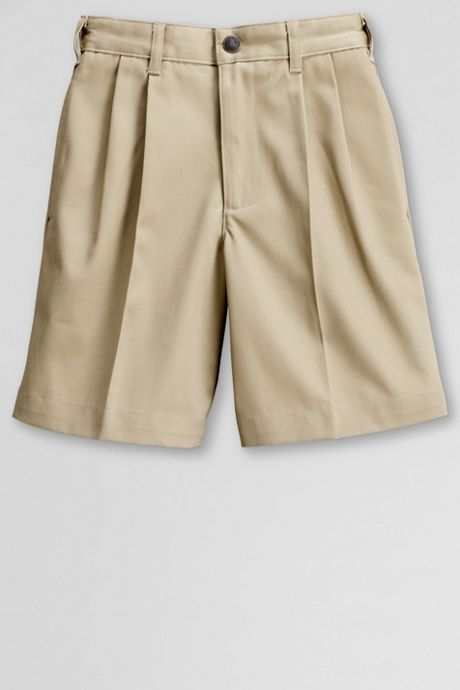 Little Boys Blend Pleat Front Chino Shorts