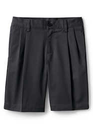 Boys Blend Pleat Front Chino Shorts