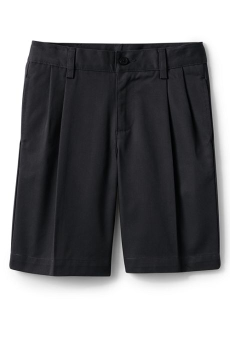 School Uniform Boys Blend Pleat Front Chino Shorts