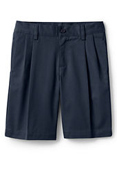 Boys' Pleat Front Chino Shorts
