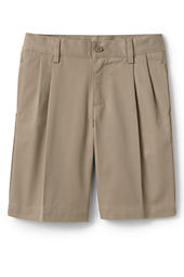 School Uniform Pleat Front Chino Shorts