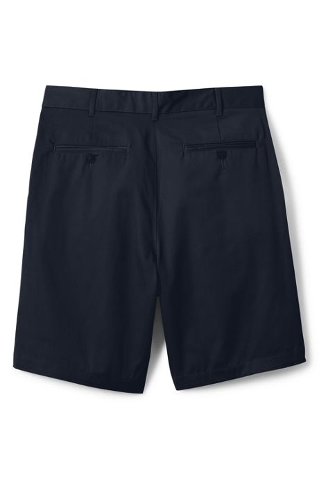 School Uniform Men's Blend Pleat Front Chino Shorts