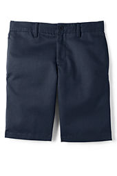 School Uniform Plain Front Stain & Wrinkle Resistant Chino Shorts