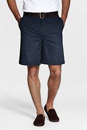 Men's Plain Front Stain & Wrinkle Resistant Chino Shorts