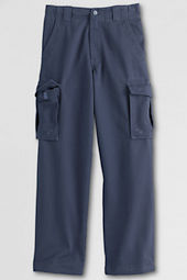 School Uniform Stain & Wrinkle Resistant Reinforced Knee Cargo Pants