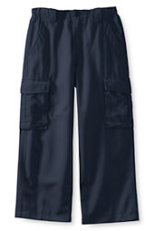 Boys' Stain & Wrinkle Resistant Reinforced Knee Cargo Pants