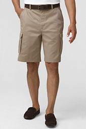 Men's Stain & Wrinkle Resistant Cargo Shorts