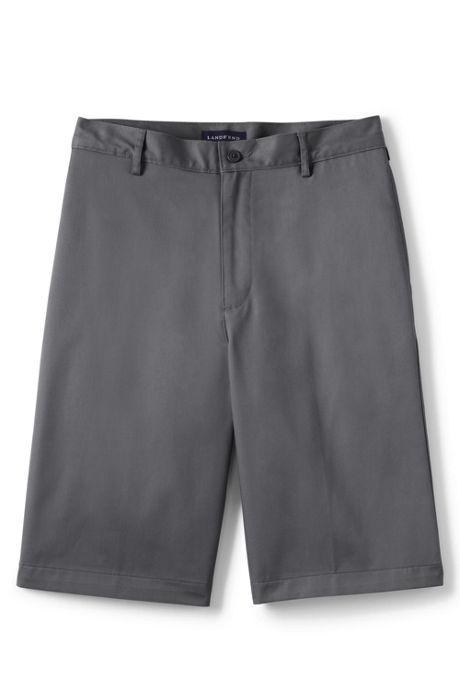 Men's Plain Front Blend Chino Shorts