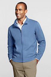 Men's Big Performance Acrylic Zip Cardigan