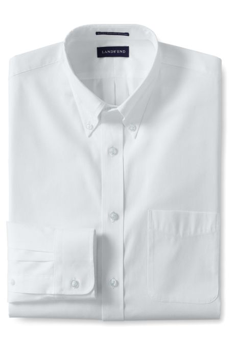 Men's Long Sleeve Buttondown Supima Pinpoint Shirt