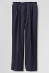 Women's Pleat Front Traditional Fit Gabardine Trousers