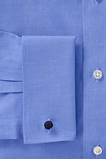 Men's Supima Pinpoint with French Cuff Dress Shirt, alternative image