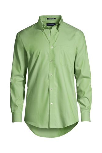 men's big & tall long sleeve buttondown no iron pinpoint shirt