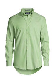 Men's Long Sleeve Buttondown No Iron Pinpoint Shirt