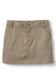 Girls 2-Button Stretch Skort Above Knee
