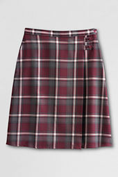 Women's Plaid A-line Skirt