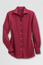 Women's Long Sleeve Easy-care Broadcloth Blouse
