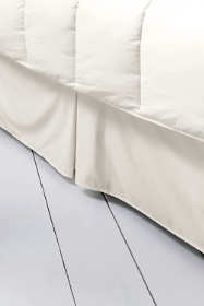 No Iron Supima Sateen Solid Bedskirt