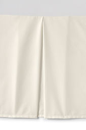 400-count No Iron Cotton Bedskirt