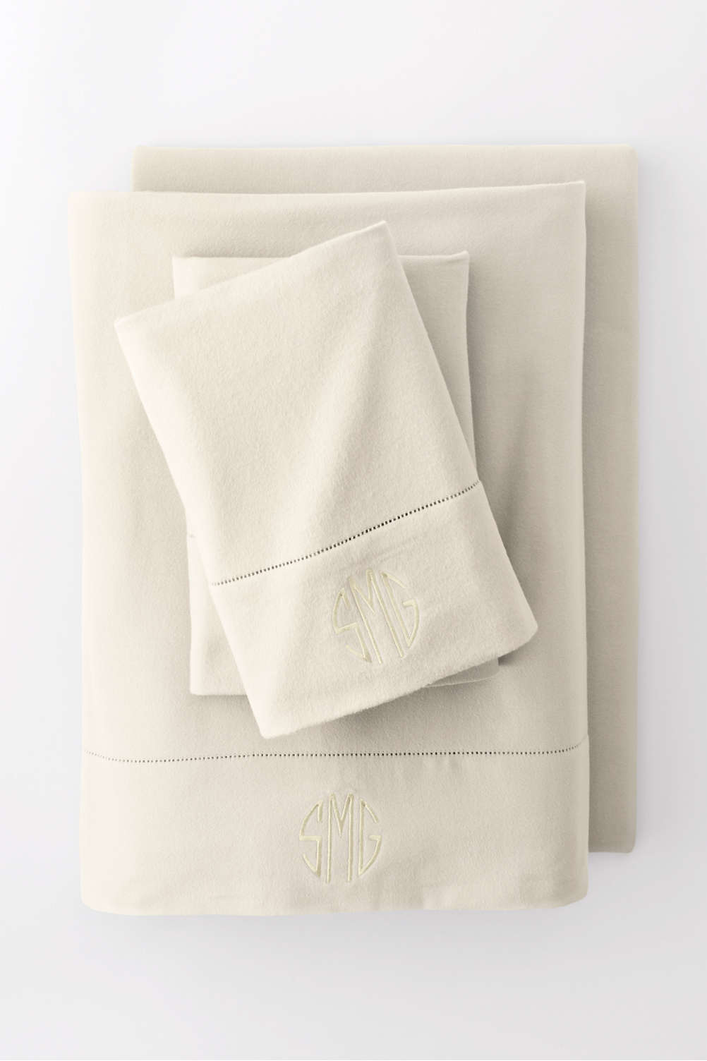 6oz Supima Flannel Sheet Set from Lands' End