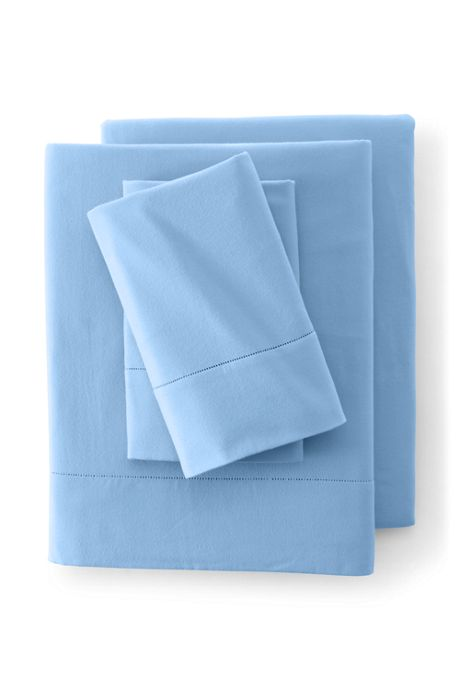 6oz Supima Flannel Flat Sheet