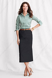 Women's Long Chino Skirt