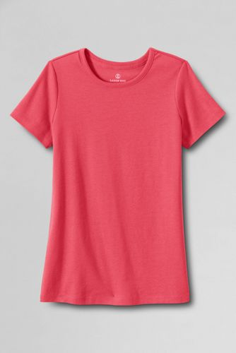 Women's Regular Short Sleeve Cling Free Rib Tee
